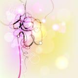 Techno abstrakt begreppbakgrund Royaltyfri Foto