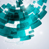 Techno abstrakt begreppmall Royaltyfria Foton