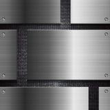 Techno abstrakta szablon Zdjęcie Stock