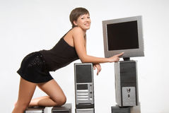 Techno age Royalty Free Stock Images