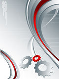 Techno Backdrop Stock Photo