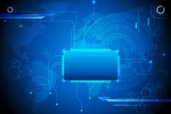 Techno Background Royalty Free Stock Image