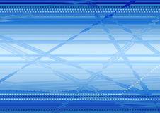 Techno background. Abstract background with blue shades Stock Images