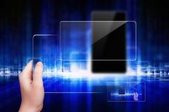 Techno background Royalty Free Stock Photos