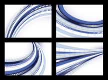 Techno backgrounds Stock Photography