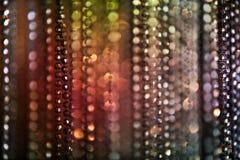 Techno Beads Background Stock Image