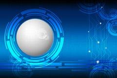 Techno Binary Background Royalty Free Stock Photos