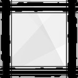 Techno Border. Techno style border, good for a background vector illustration