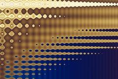 Techno bruin op blauw Stock Foto