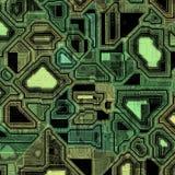 Techno circuitry Stock Photography