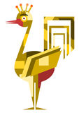 Techno folk rooster Royalty Free Stock Photography