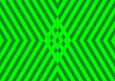 Techno Geometric Oriental Ornamental in Neon Green Colour Seamless Pattern Background Wallpaper Stock Image