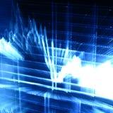 Techno graph royalty free stock photos