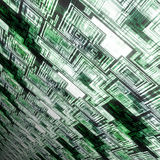 Techno green background Royalty Free Stock Photos
