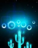 Techno-Hintergrund Stockbilder