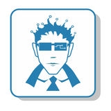 Techno-Ikone - Verwalter Elektronik Stockfotos
