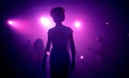 Techno impreza rave przyjęcie Obraz Stock