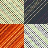 Techno-Muster von Kreisen und von Linien Stockfotos