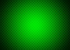Dark Green Techno Ornamental Pattern Background Wallpaper Stock Photo