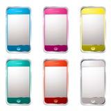 Techno phone variation Stock Photo
