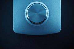 Techno roda dentro o azul Imagens de Stock Royalty Free