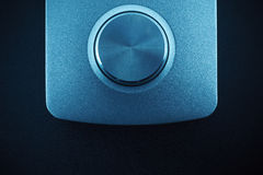 Techno rullar in blått Royaltyfria Bilder