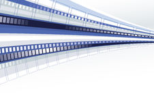 Techno template Stock Image