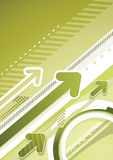 Techno urban background Stock Images