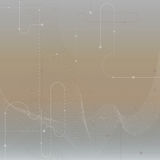 Techno vector abstract blurred background with soft lines. Cyber Royalty Free Stock Photography