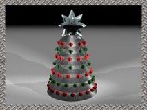 Techno Weihnachten 2 Lizenzfreies Stockbild