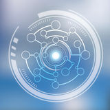 Techno wendet 3d ein Lizenzfreies Stockbild