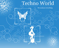 Techno World Royalty Free Stock Photos