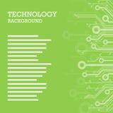 Technolgy als thema had geometrische bannerachtergrond Bunting of swag malplaatje voor het scrapbooking van partijen, babydouches vector illustratie