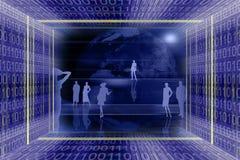 Technolog astratto di informazioni illustrazione vettoriale