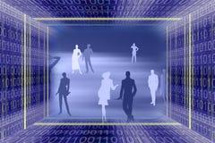 Technolog astratto di informazioni Fotografia Stock Libera da Diritti