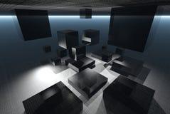 technologia abstrakcyjna Obrazy Stock
