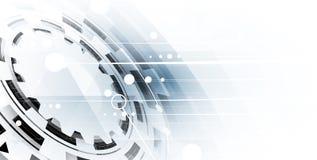 Technologia cyfrowa świat Biznesowy wirtualny pojęcie Obrazy Royalty Free