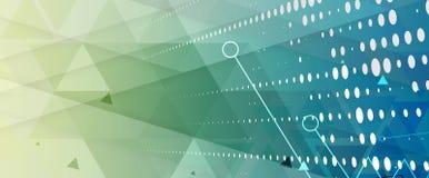 Technologia cyfrowa świat Biznesowy wirtualny pojęcie wektor Obraz Stock