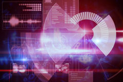 Technologia cyfrowa interfejs Zdjęcia Stock