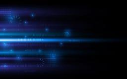 Technologia cyfrowa networking interneta sci fi pojęcia tła projekt ilustracji