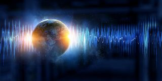 Technologia dźwięk fotografia royalty free