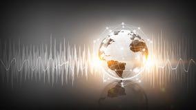 Technologia dźwięk zdjęcie stock