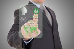 Technologia dostęp dla ochrony Obrazy Stock