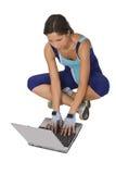 technologia fizycznej fitness zdjęcia stock