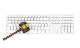 Technologia i prawo Obraz Stock