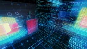 Technologia interfejsu komputeru dane Digital ekran zbiory