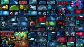 Technologia interfejsu komputeru dane Digital ekran zbiory wideo