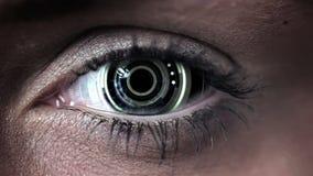 Technologia kodu projekt w ludzkim oku zbiory