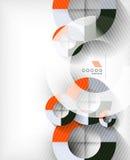 Technologia kształta abstrakta geometryczny tło Zdjęcie Royalty Free
