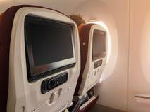 Technologia na samolocie Obrazy Royalty Free